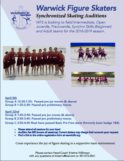 2018-2019 Synchro Auditions